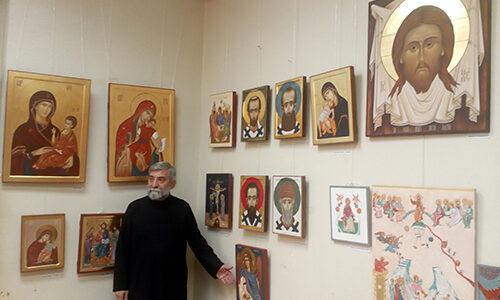 Изложба завршних радова Академије за црквене уметности и консервацију