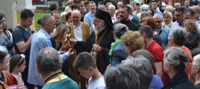 Најава: Епископ сремски г. Василије у недељу у Храму рођења Светог Јована Крститеља у Суботишту