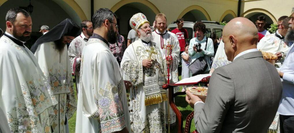 Празник Силаска Светог Духа на апостоле у манастиру Јазак