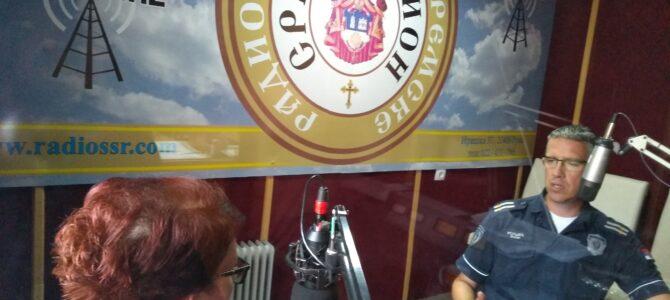 ИМАМО ГОСТА: начелник Одељења саобраћајне полиције ПУ у Сремској Митровици Владимир Рољић