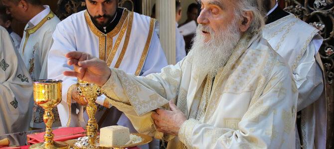 Патријарх богослужио у цркви Свете Тројице у Земуну