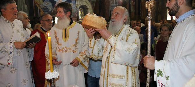 Патријарх српски г. Иринеј на празник Светог архангела Гаврила