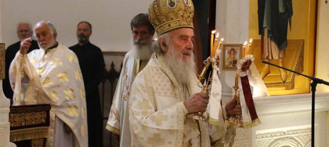 Подсећање: Патријарх српски г. Иринеј на Илиндан у Миријеву