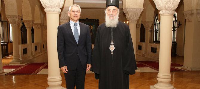 Патријарх српски примио Амбасадора Руске Федерације