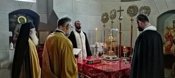 Празнично бденије уочи Петровдана у Доњој цркви у Ср. Карловцима