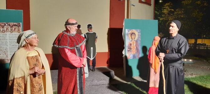 """Представа """"Принц Растко – монах Сава"""" у Пећинцима"""