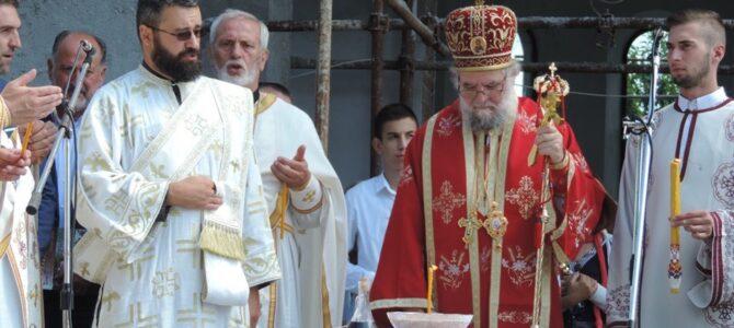 """Прослављена слава храма Благе Марије на Банстолу уз помен жртвама """"Олује"""""""