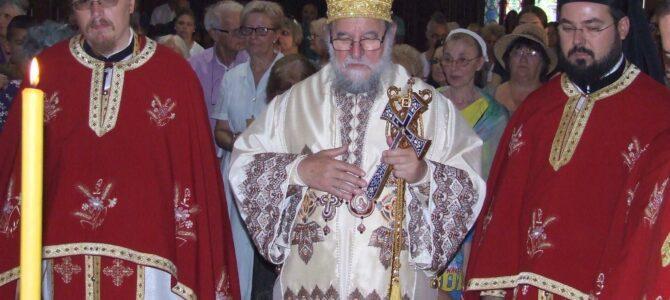 Eпископ сремски Василије литургијски прославио Св пророка Илију – своју Крсну славу