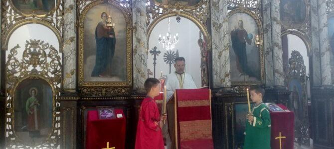 Преображење Господње у обновљеној цркви Свете Петке у Бољевцима