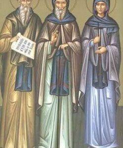 Преподобни Исакије, Далмат и Фауст