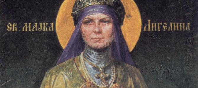 Преподобна Мајка Ангелина – Мајка Небеске доброте и милости!