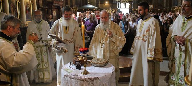 Патријарх српски г. Иринеј на празник Светог деспота Стефана у Вазнесењској цркви