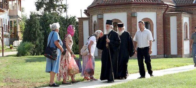 Патријарх српски г. Иринеј богослужи у Сланцима