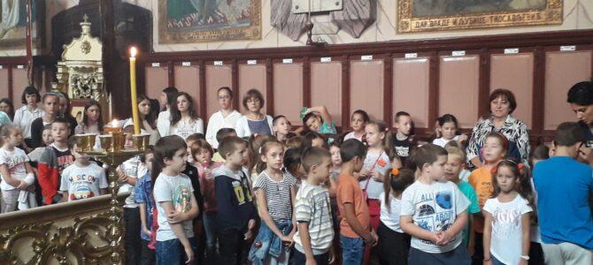 Света Литургија и молебан за почетак нове школске године у Шиду