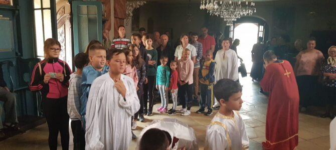 Молебан за почетак нове школске године у Беочину
