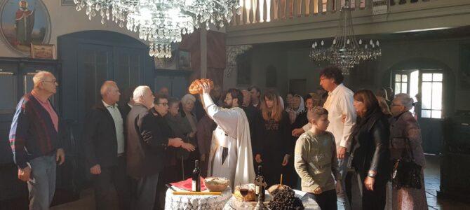 Литургиjски прослављен Крстовдан у храму Преображења Господњег у Беочину