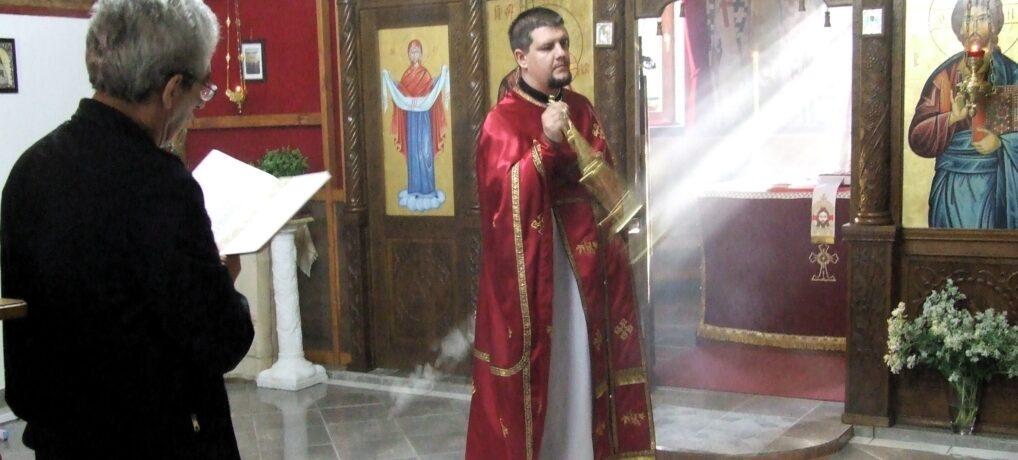 Света Литургија у Петроварадину поводом Усековања главе Светог Јована Крститеља