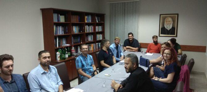 Радни састанак вероучитеља архијерејског намесништва старопазовачког