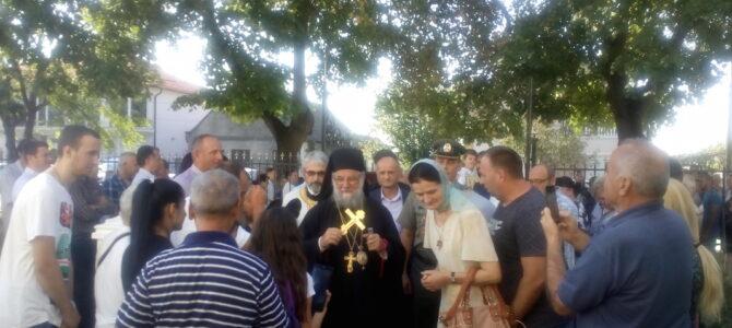 Епископ сремски г. Василије началствовао у Петровчићу