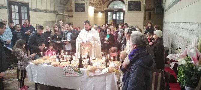 Света Литургија поводом Задушница у Саборном храму у Руми