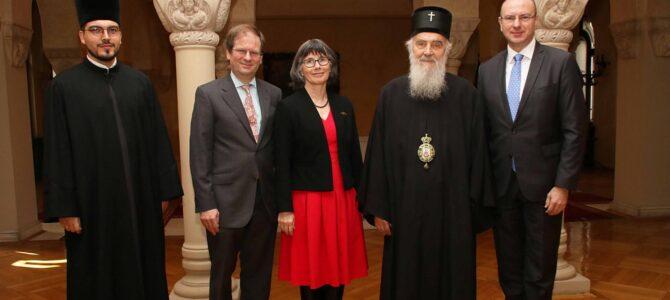 Патријарх српски г. Иринеј примио Амбасадорку Велике Британије
