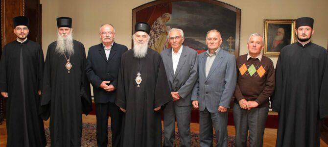Патријарх српски г. Иринеј примио православне вернике из Кућанаца