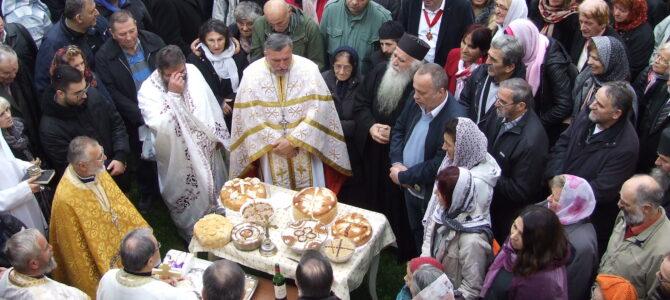 Прослављен празник Светог Димитрија у манастиру Велика Ремета