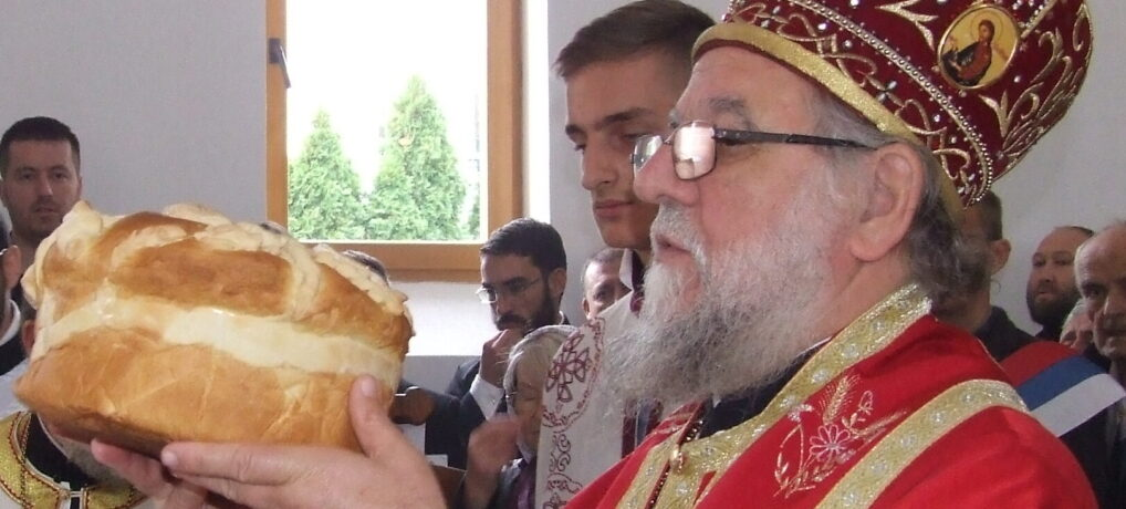 Најава: Његово Преосвештенство Епископ сремски г. Василије у недељу у Сурчину