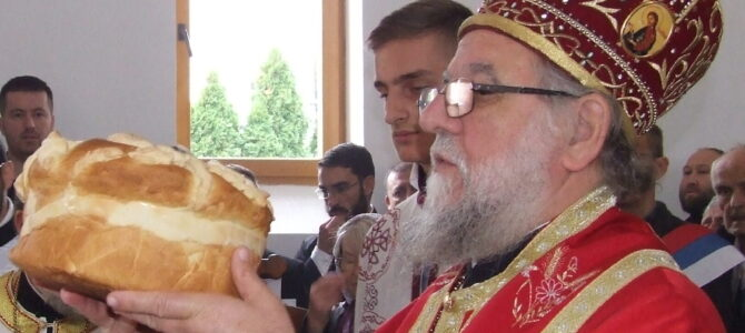 Његово Преосвештенство Епископ сремски г. Василије богослужио у Петроварадину