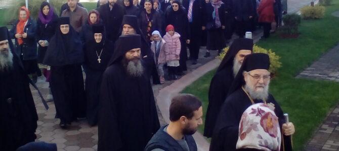 Његово Преосвештенство Епископ сремски г. Василије на Аранђеловдан богослужио у манастиру Привина Глава
