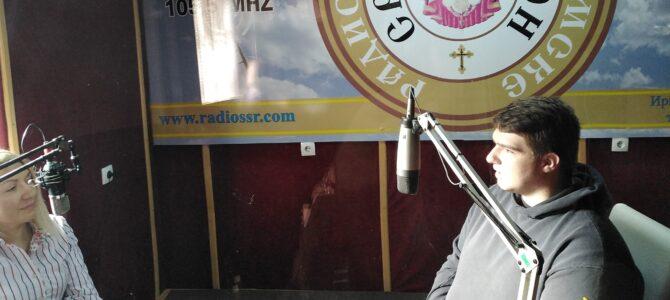 ЗАЈЕДНИЧАРЕЊЕ: Милан Романовић, ученик Богословије Св. Арсенија Сремца у Сремским Карловцима
