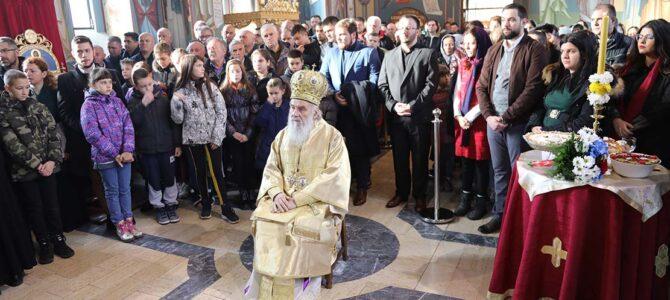 Најава: Патријарх српски г. Иринеј у недељу богослужи у Жаркову