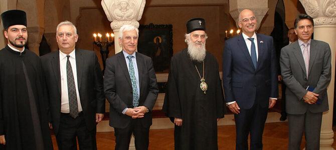 Патријарх српски примио Министра спољних послова Грчке