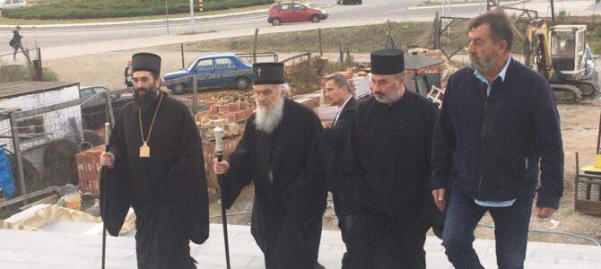 Патријарх посетио храм Светог Василија Острошког у Нишу
