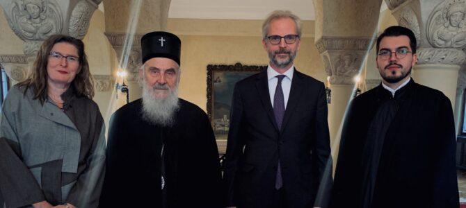 Патријарх српски г. Иринеј примио Амбасадора Аустрије