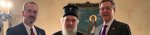 Патријарх српски примио Амбасадора САД за верске слободе
