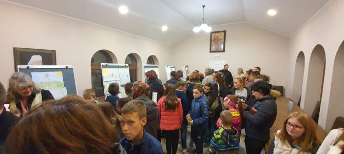 Ликовна изложба ђачких радова поводом 800 година аутокефалности СПЦ у Угриновцима