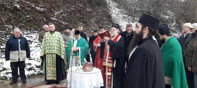 Освећење звона у манастиру Раковац