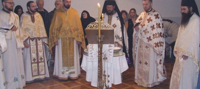 Литургијско сабрање у Манастиру Раковац