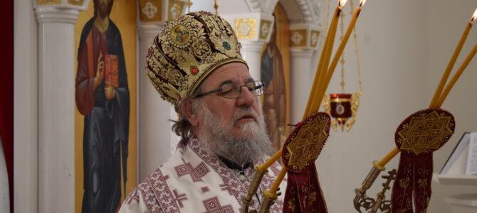 Његово Преосвештенство Епископ сремски г. Василије богослужио у Сурчину