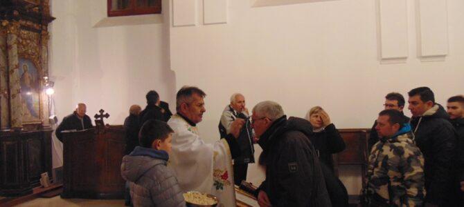Божић у цркви Свете Петке у Бољевцима