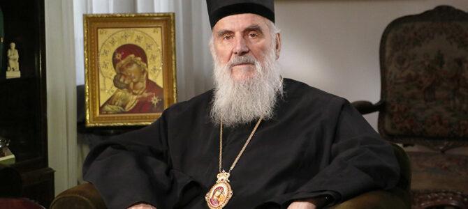 Најава: Патријарх српски г. Иринеј на дан Света Три Јерарха богослужи у Вазнесењској цркви