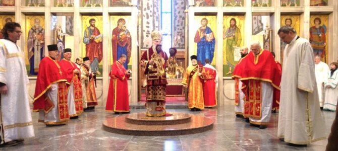 Његова Светост Патријарх српски г. Иринеј служио у цркви Светог Марка