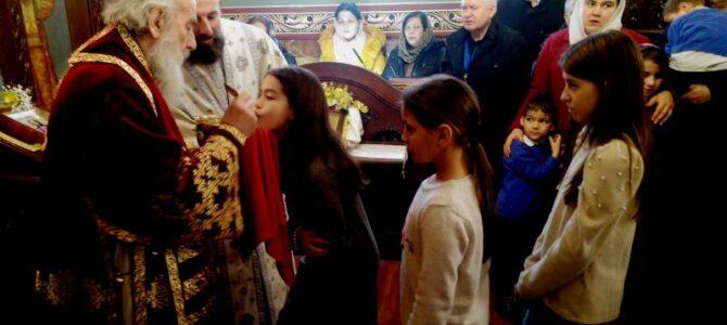 Патријарх српски г. Иринеј на празник Св. Јована Крститеља богослужио у храму рођења Св. Јована на Централном гробљу у Београду