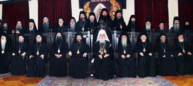 Саопштење Светог Архијерејског Синода СПЦ