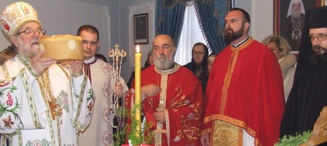 Прослава Обрезања Господа Исуса Христа и Светог Василија Великог  у манастиру Раковац
