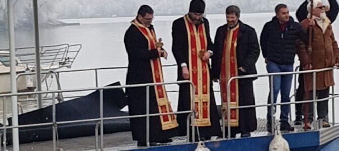 Богојављенско пливање за Часни крст у Сремској Митровици