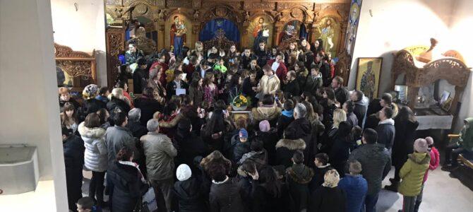 Празник Светог Саве у храму Свете Петке у Новој Пазови