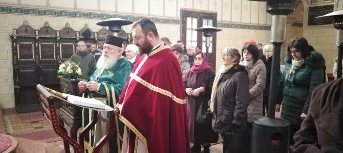 Крстовдан и Водоосвећење у храму Силаска Светог Духа на апостоле у Руми