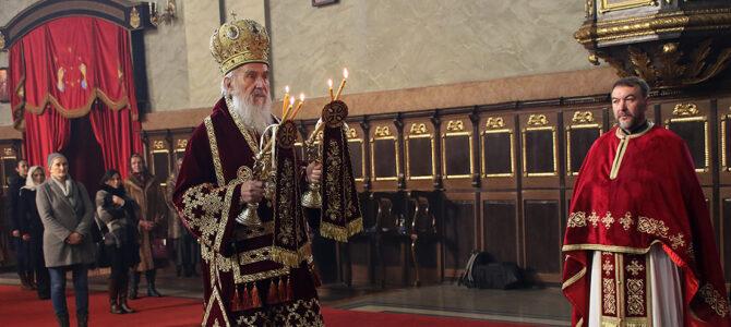 Најава: Патријарх српски г. Иринеј у недељу богослужи у храму Св. Симеона Мироточивог